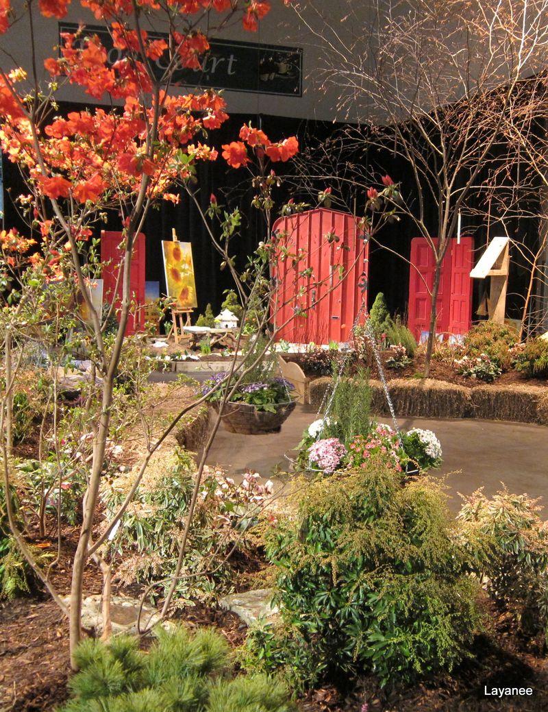 Ledge and Gardens: Rhode Island Spring Flower & Garden Show - 2011