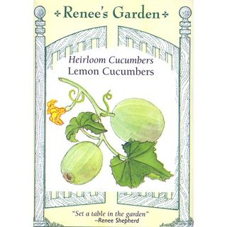 Renee's Garden - Lemon Cucumber
