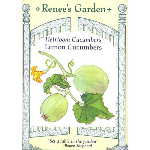 Renee's Garden - Lemon Cucumber