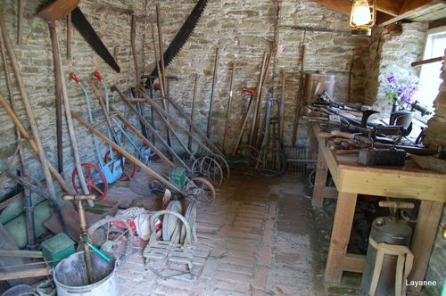 Tools at Heligan