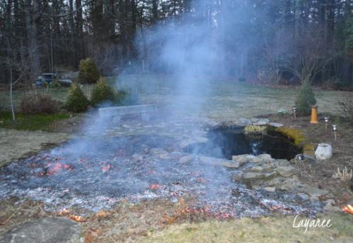 Grass burning 3
