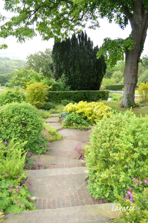 Follers path to the garden